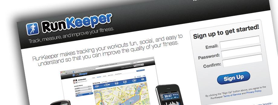 Runnkeeper: l'infographie
