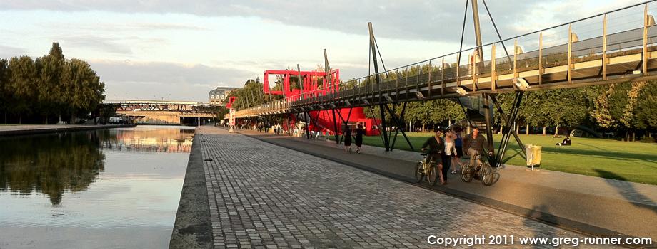 Où courir à Paris: le canal de l'Ourcq