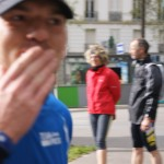 Baiser au marathon de Paris