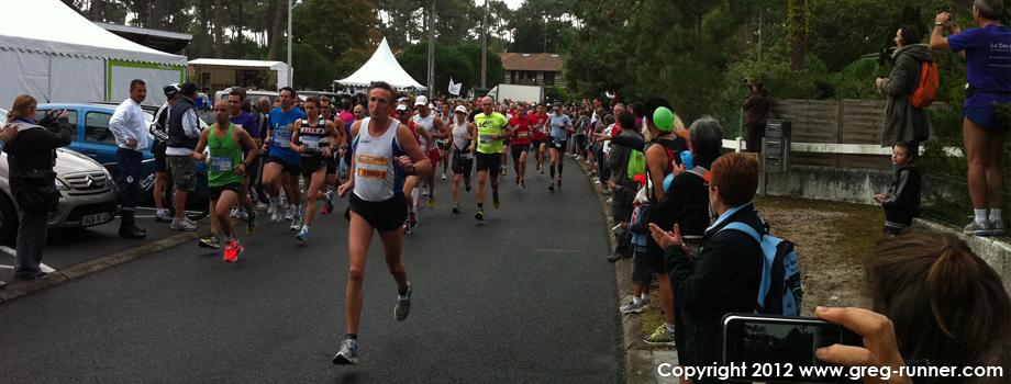 Marathon des Villages 2011: départ