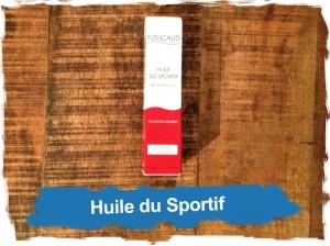 Foucaud: huile du sportif