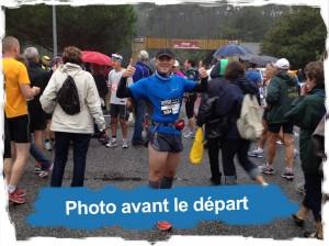 Marathon des Villages 2012: sur la ligne de départ
