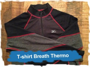 Mizuno: t-shirtBreath Thermo