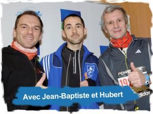 Greg Runner avec Jean-Bapstiste et Hubert