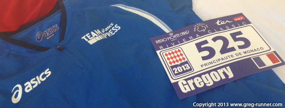 Team Asics Press: Monaco Run - Classic
