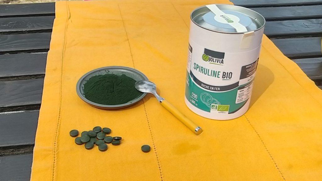La cure de spiruline: en poudre ou en comprimé