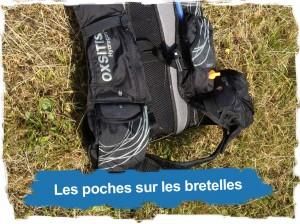 Oxsitis: poches sur les bretelles