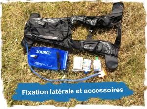 Sac Hydragon Ace: Fixation latérale et accessoires