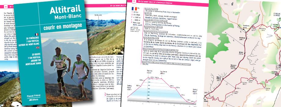 Altitrail Mont-Blanc - Courir en montagne  - 1er topo trail