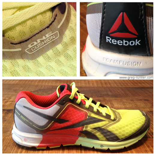One Cushion Reebok: Close-up