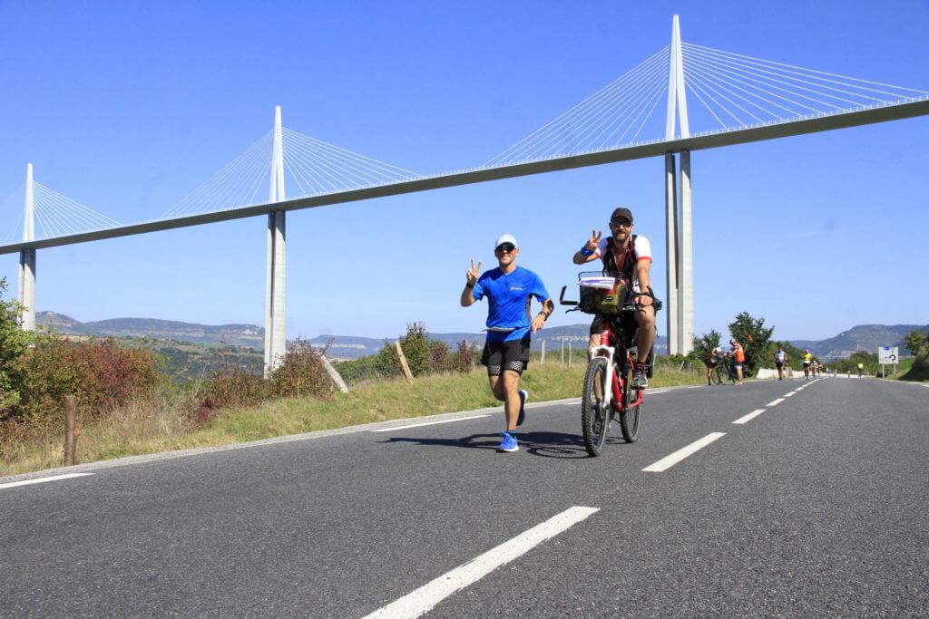 100km de Millau: une aventure d'équipe!