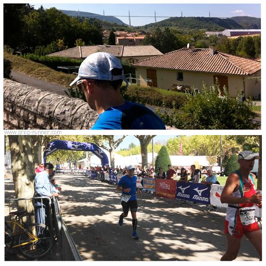 100km de Millau: passage au marathon