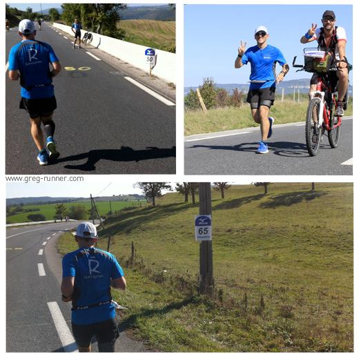 100km de Millau: à mi-parcours