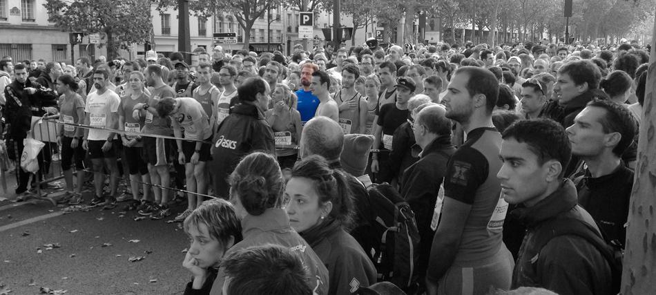 Ekiden de Paris 2014: Salvio sur la ligne de départ