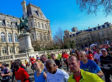 Semi marathon Paris / Parcours: changement de sens
