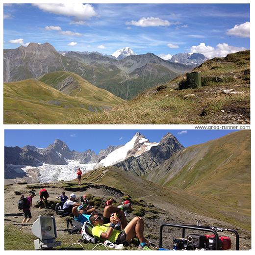 Passage par le Grand Col Ferret