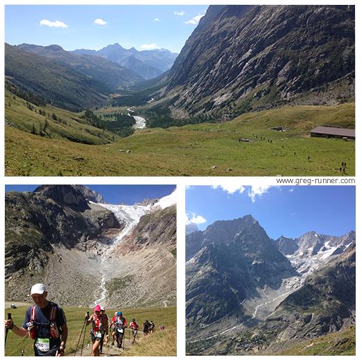 Vers le Grand Col Ferret