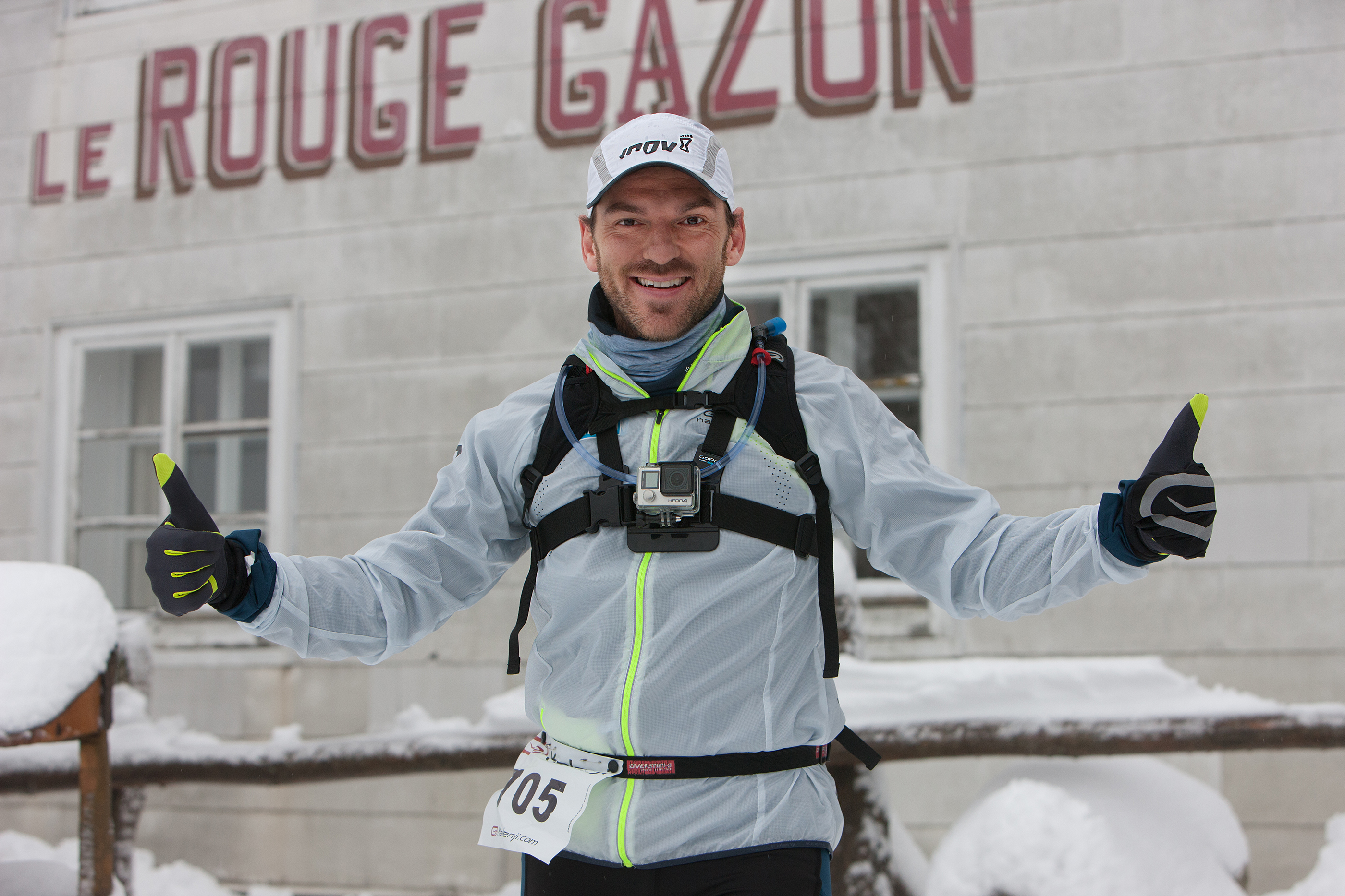 Trail Blanc Rouge Gazon