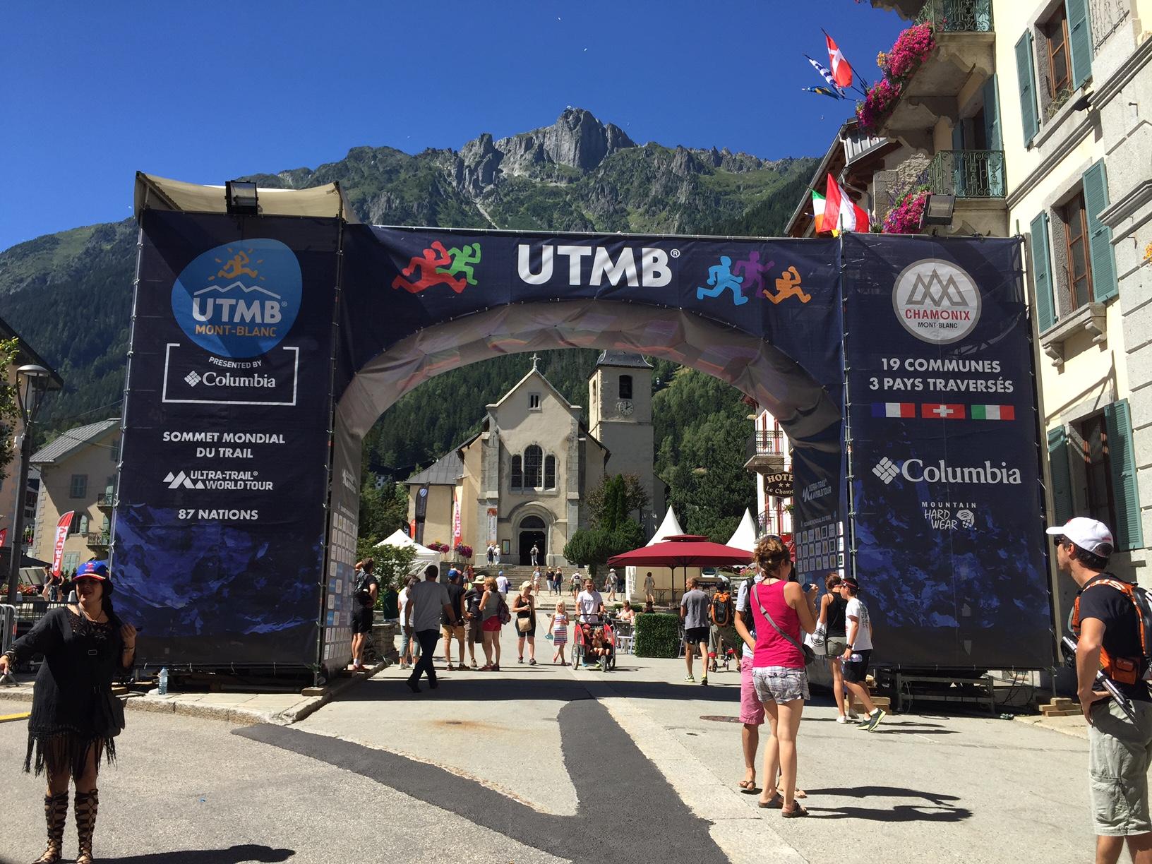Depart de l'UTMB