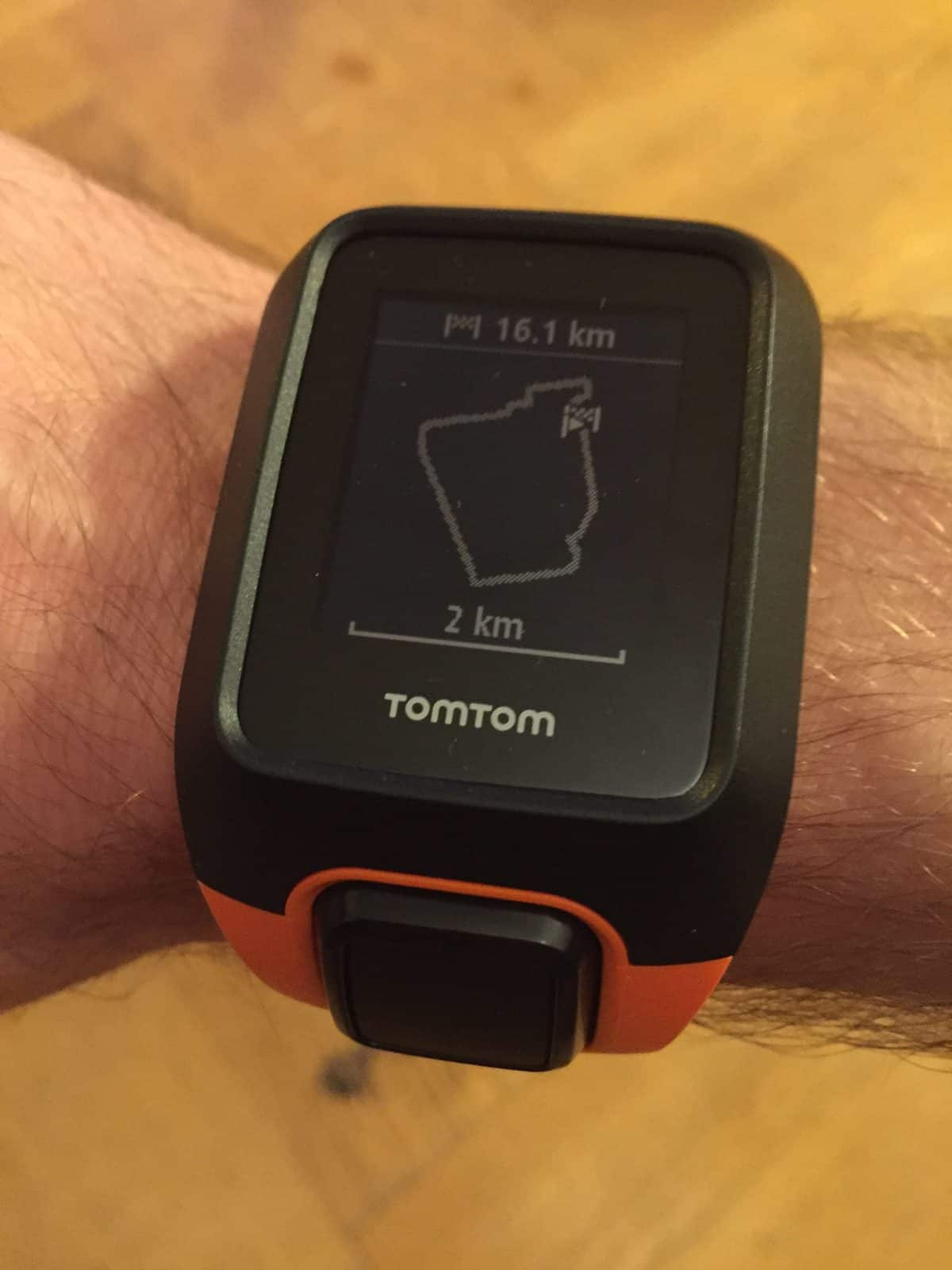 Tomtom Adventurer: aperçu du parcours