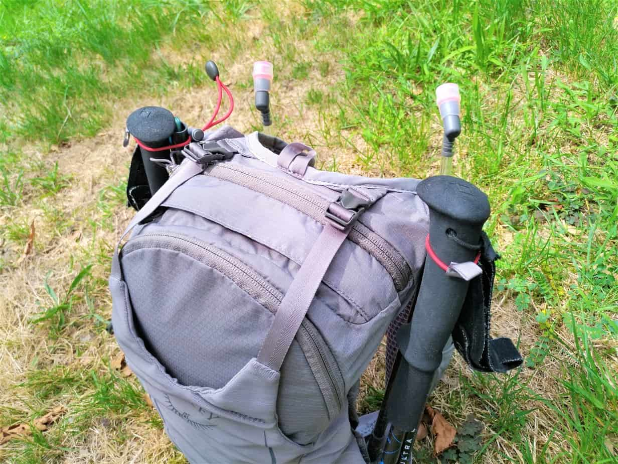 Attache-baton du sac Osprey Duro 6