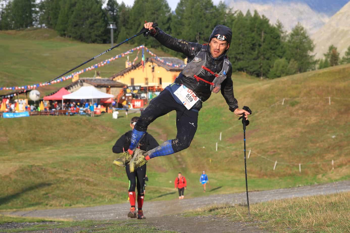 UTMB: saut de cabri