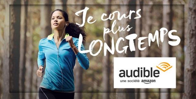 L'activité physique avec un livre audio Audible