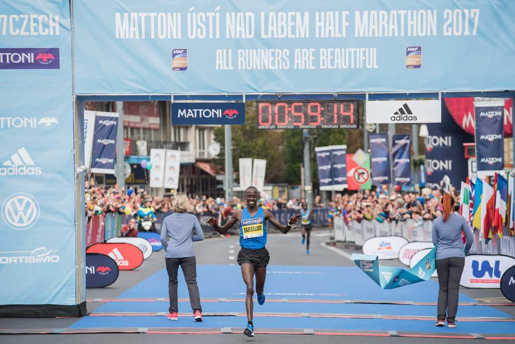 Vainqueur du semi-marathon de Usti nad labem - République Tchèque