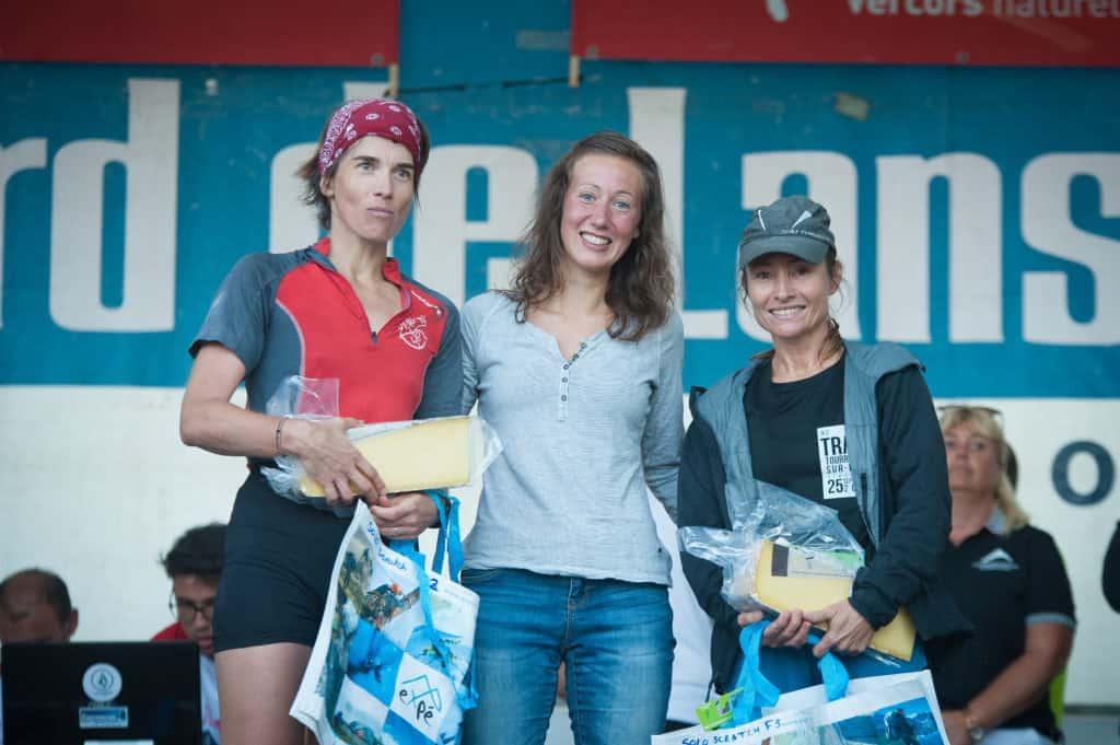 Ultra Trail du Vercors: podium Femmes