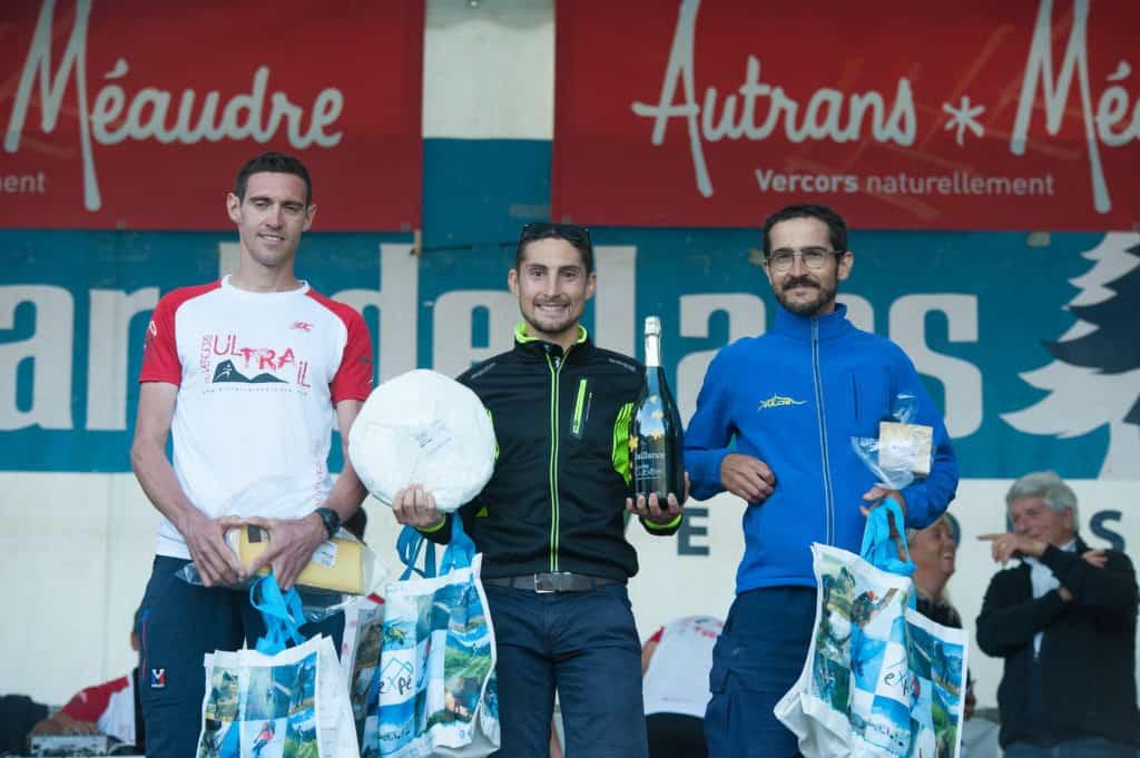 Ultra Trail du Vercors: podium Hommes