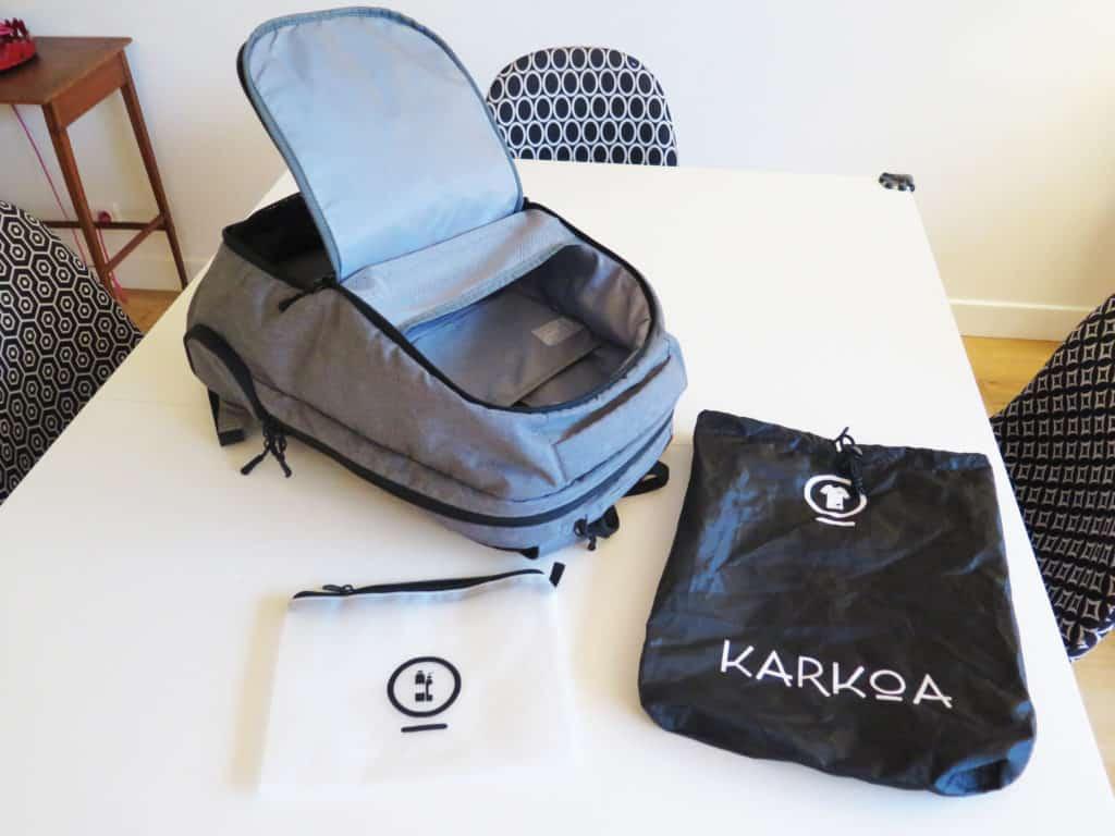 Karkoa smartbag 40 le Test et avis: le sac pour affaires de sport