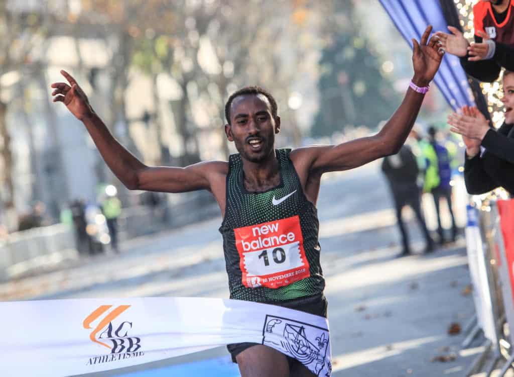 Vainqueur du Semi-marathon de Boulogne-Billancourt 2018: Taye GIRMA
