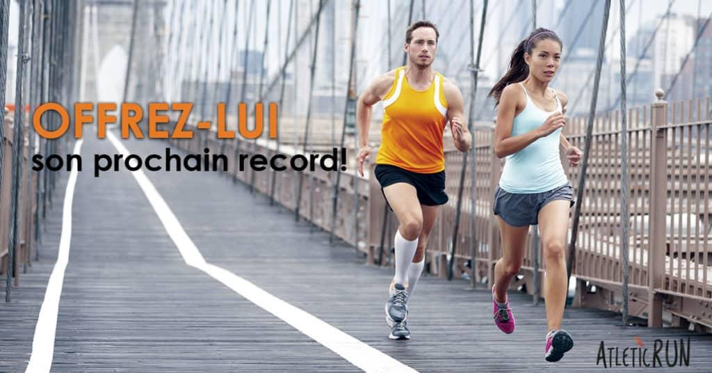 Idée cadeau à offrir à un coureur, runner, traileur, trailrunner: un programme d'entraînement sur mesure atleticrun pour battre son record!