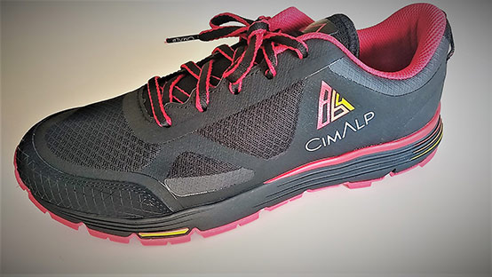 Chaussures de trail Cimalp 864 Drop Control: vue de profil