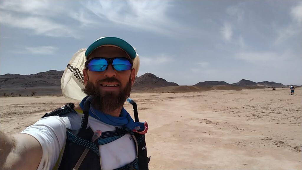 3ème étape du Marathon des Sables: dans le désert