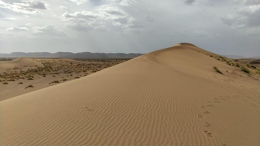Marathon des sables: des paysages à couper le souffle sur l'étape longue