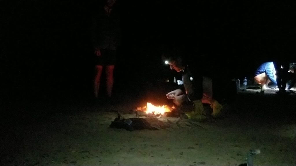 MDS: préparation du feu