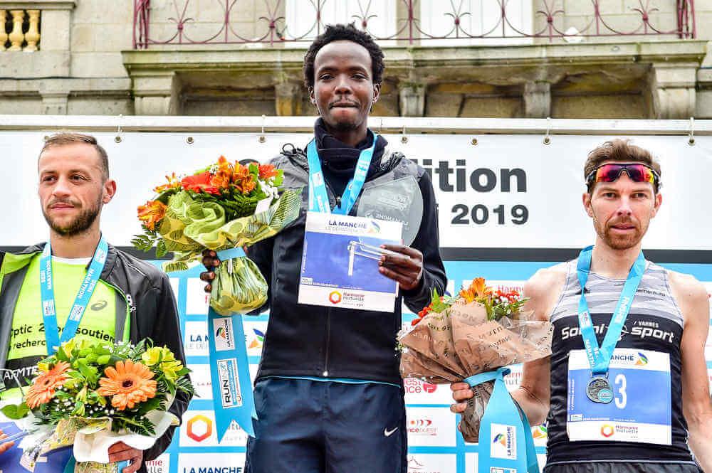 Semi-marathon du Mont Saint-Michel: podium Hommes