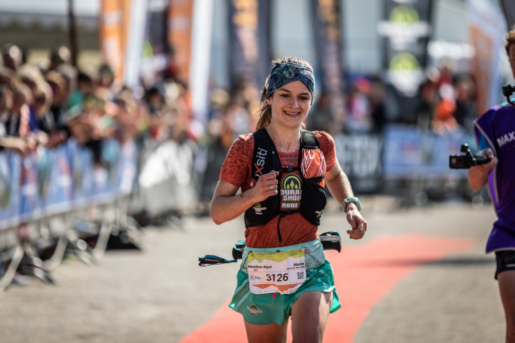 Marine QUINTARD: vainqueur féminine de la marathon-race  2019