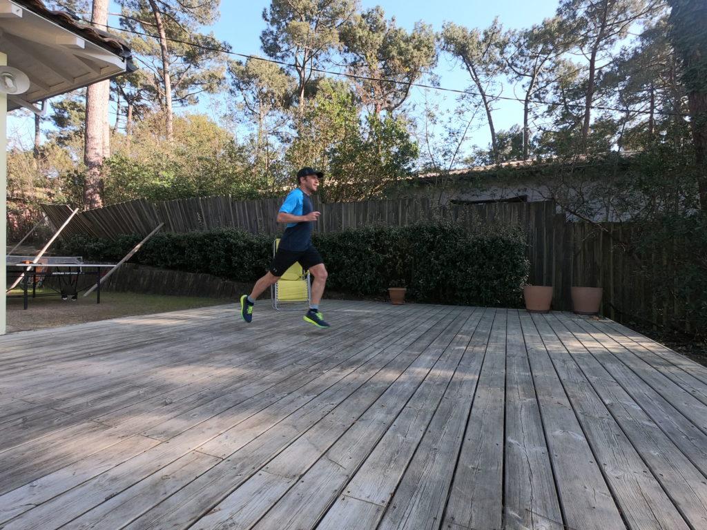 Courir sans son jardin contre le Coronavirus