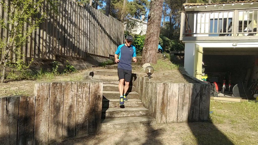 Courir dans son jardin contre le Coronavirus