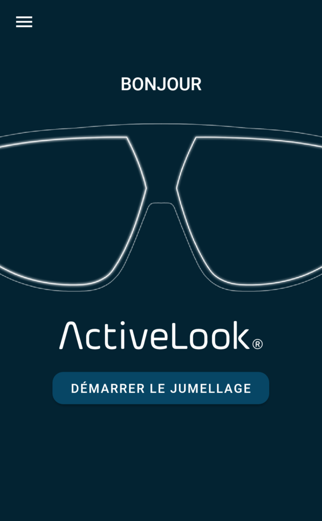 Application ActiveLook