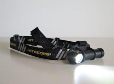 Frontale pour le trail: la Nitecore UT32