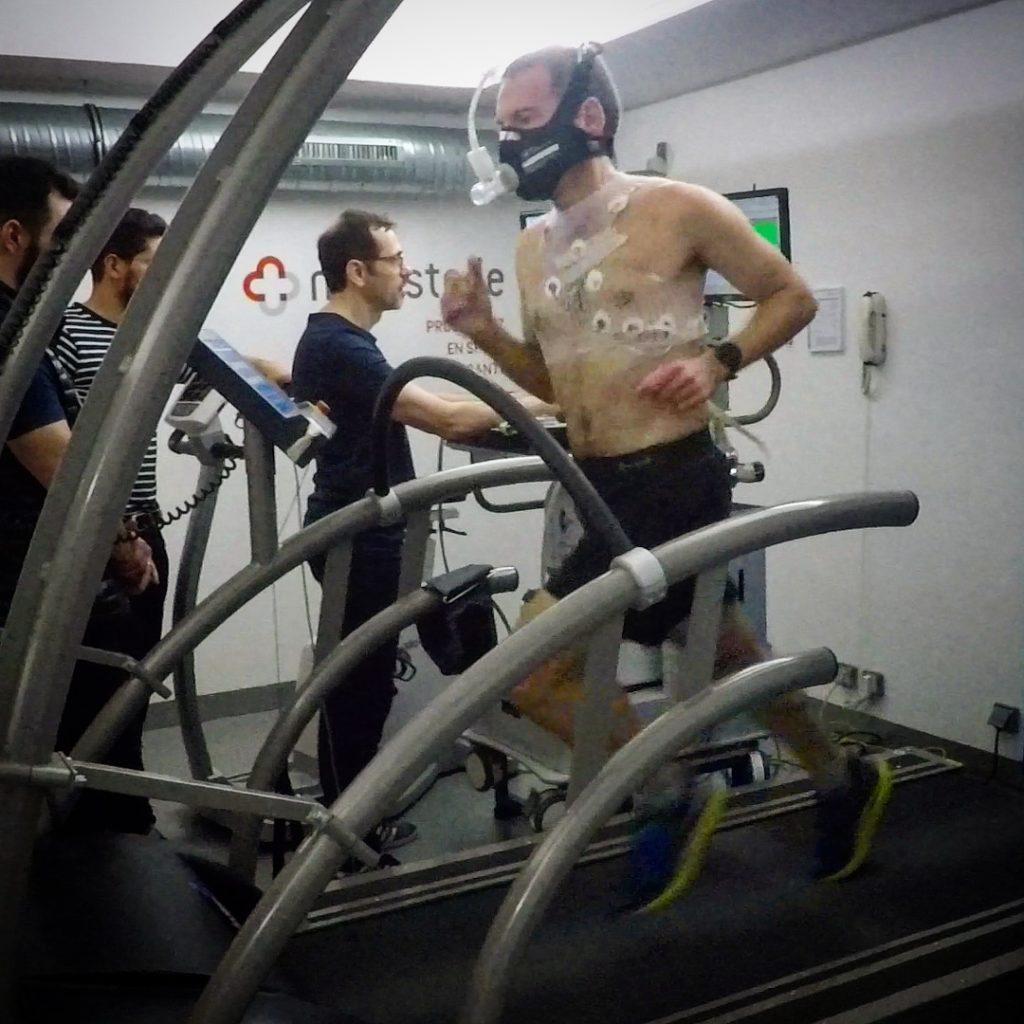 Le test VMA cardio-respiratoire réalisé en laboratoire