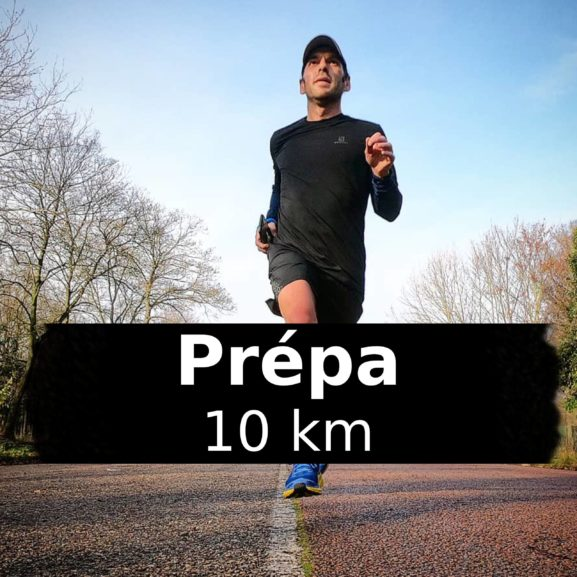 Prépa: programme d'entrainement 10km