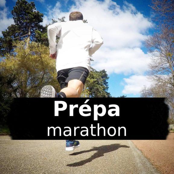 Prépa: programme d'entrainement marathon