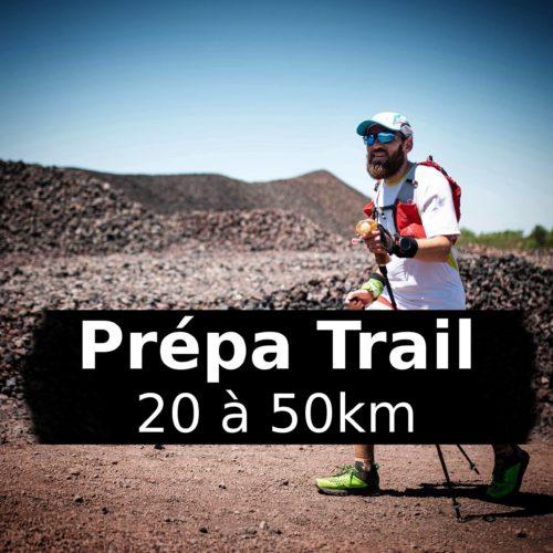 Prépa: Programme d'entraînement Trail de 20km à 50km