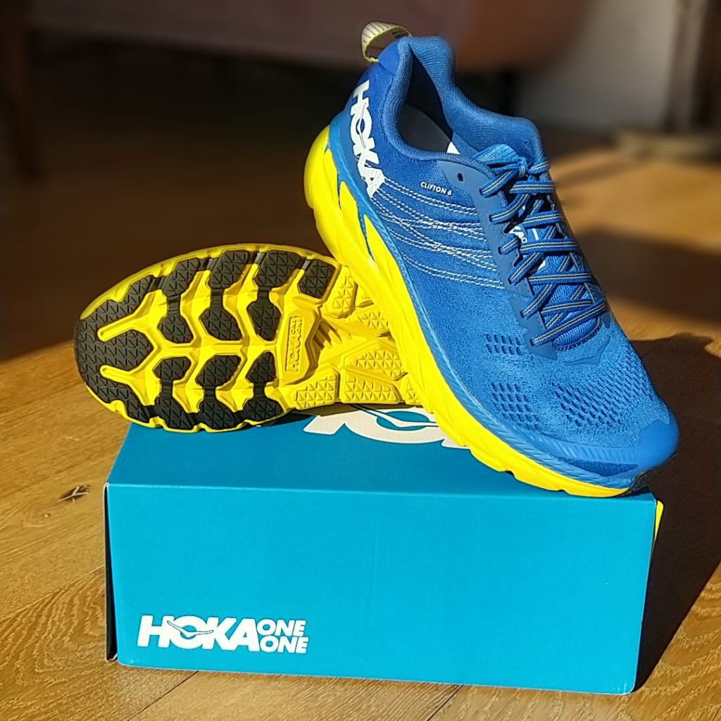 Clifton 6: la chaussure running de Hoka One One