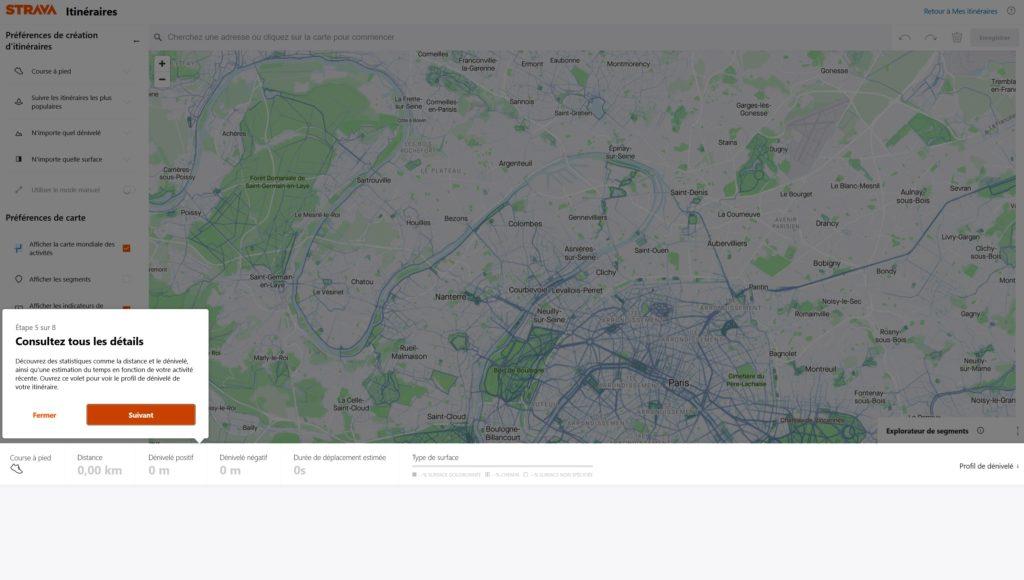 Strava Itineraire - Etape 5