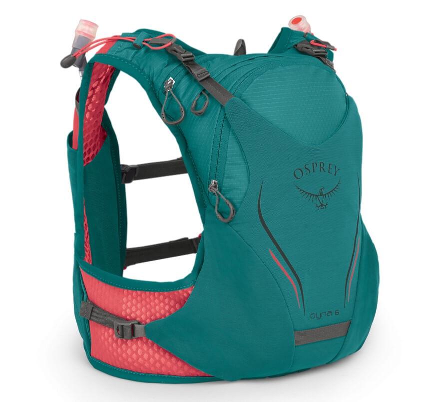 Sac à dos gilet  de trail pour femme: le Dyna d'Osprey
